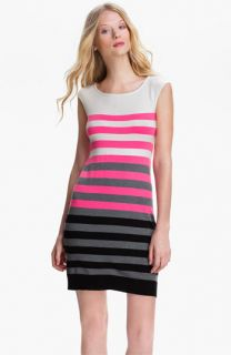 Milly Multistripe Shift Dress
