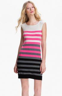 Milly Multistripe Shift Dress
