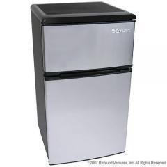 Steel Energy Star 2 Door Compact Mini Refrigerator Freezer