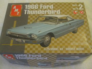 Complete Ford Thunderbird Model Car Kit Collectible Classic Automobile