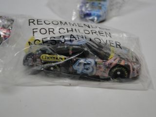 STAR WARS CHEERIOS COLLECTIBLE #43 NASCAR DIE CAST CARS SET LOT OF 3
