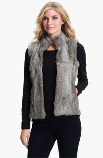 MICHAEL Michael Kors Genuine Rabbit Fur Vest