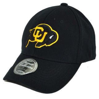COLORADO BUFFALOES PREMIUM WOOL ONE FIT CAP HAT BY TOP OF THE WORLD SZ