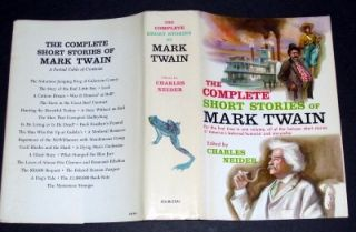 Club Edition * THE COMPLETE SHORT STORIES of MARK TWAIN * Doubleday