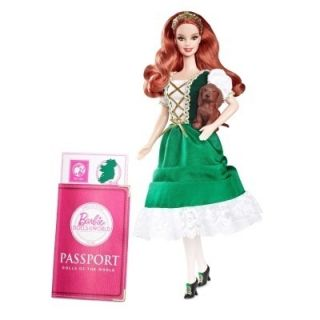 Barbie Collector   Pink Label   Dolls of the World   IRELAND   Irish