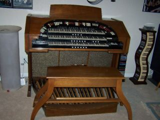 Conn Theatre Organ Model 650 3 Keyboards Refurbished