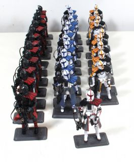 Star Wars Clone Army Builder Lot 31 Arc Troopers Tac Order 66 Black