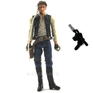 Star Wars Han Solo 2008 3 75 Action Figure The Clone Wars S37
