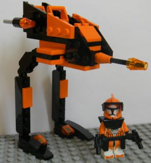 LEGO STAR WARS CLONE WARS CUSTOM COMMANDER CODY 7TH SKY CORPS AT RT