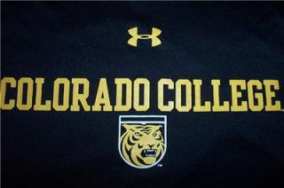 New Colorado College Tigers Under Armour UPF 30 Dry Running Gym Shirt