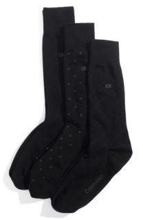 Calvin Klein Patterned Socks (3 Pack)