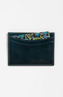 Paul Smith Accessories Calfskin Leather Credit Card Case