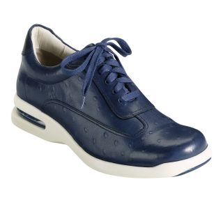 Cole Haan Air Conner in Navy w Ostrich Print C10588