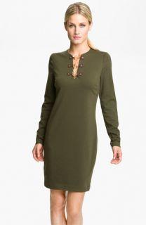 MICHAEL Michael Kors Toggle Neck Dress