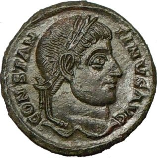 Constantine I The Great 320AD Authentic Genuine Ancient Roman Coin