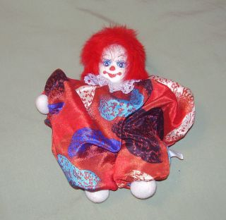 Bean Bag Clown Doll Classic Collectible Clowns Circus 2