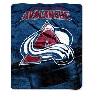 Colorado Avalanche Licensed Micro Fleece Throw Blanket