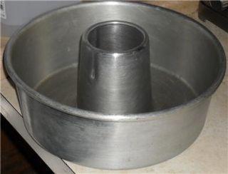 heavy duty commercial aluminum tube cake pan 10 x 4