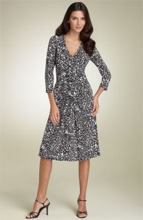 David Meister Twist Front Jersey Dress
