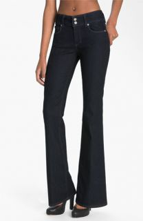 Paige Hidden Hills Bootcut Stretch Jeans (Twilight) (Petite)