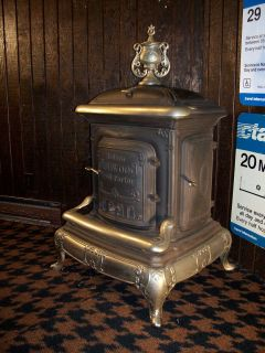 Modern Glenwood Parlor Stove Cast Iron