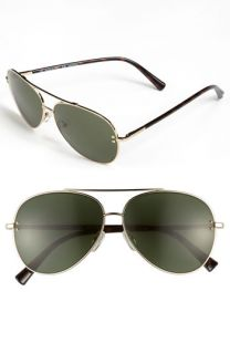 Valentino Metal Aviator Sunglasses