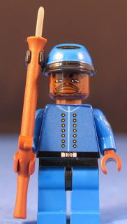 Lego® Brick Custom Civil War Union Infantry Sergeant V2