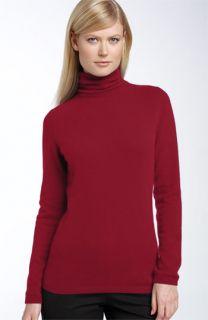 McDuff Cashmere Scrunch Neck Turtleneck Sweater