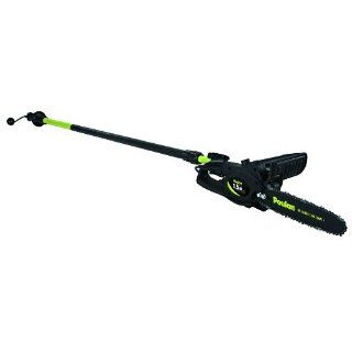 Pole Pruner with 10 Inch Bar and Chain, Boom Telescopes up to 8 Feet