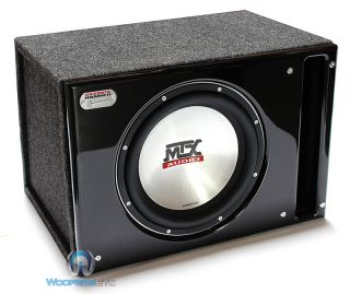 SLH T8512 D MTX 12 Pro Sub 1000W Subwoofer Speaker Ported Box Loud