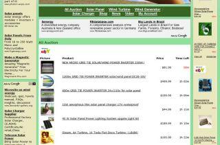 Established Alternative Green Energy Sources Website Business for Sale