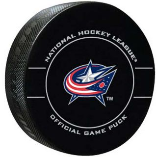 Columbus Blue Jackets Sherwood NHL Official Game Puck