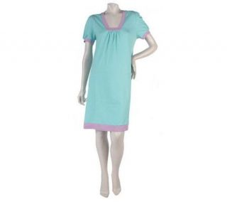 Stan Herman 100Solid Cotton Jersey Sleep Gown   A214413