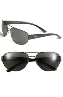 Ray Ban Double Bridge Metal Aviator Sunglasses