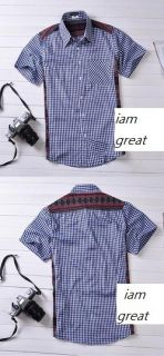New Comme Des Garcons CDG Play Heart Blue Stripe Shirt