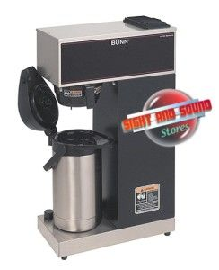 Bunn Commercial Air Pot Pour Over Coffee Maker 1.9 to 3 Liter VPR APS
