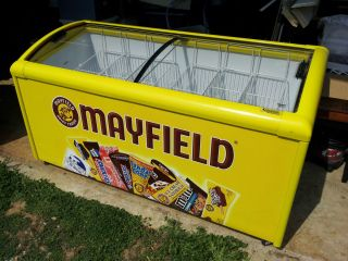 Commercial Mayfield Ice Cream Freezer