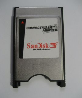 Compact Flash CF to PC PCMCIA Card Adapter