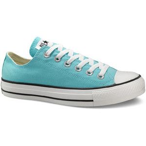 Light Blue Converse Shoes Mens 8 Womens 10
