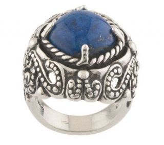 Carolyn Pollack Sterling Cielo Lapis Ring —
