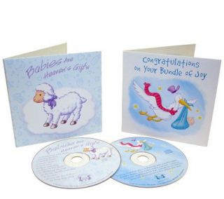 Congrats on Baby Greeting Cards & Music CD GiftSets   20 Pack