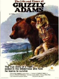 Grizzly Adams Complete TV Series DVD Dan Haggerty RARE Show