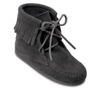 Minnetonka Childrens Ankle High Tramper Boots   A209223