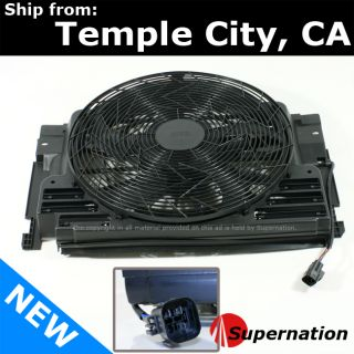 AC Radiator Cooling Auxiliary Fan Assembly Air Condenser Motor