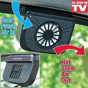 Power Window Fan Ventilator Auto Cool Air Vent for Car Vehicle