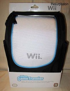 Deluxe Game Traveler Travel Case for Console Games Accessories