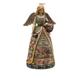 Jim Shore Heartwood Creek Inspirational GardenAngel Figurine   H351739