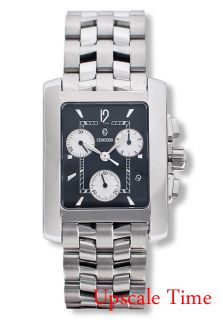 Concord Sportivo Mens Watch Chronograph Black 0309071
