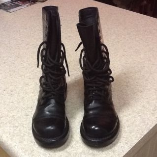 Corcoran us Army Jump Boots Original Military Issued Boots Very Nice