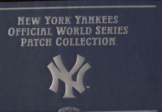 NY YANKEES WORLD SERIES PATCH COLLECTION WILLABEE WARD 25 PATCHES